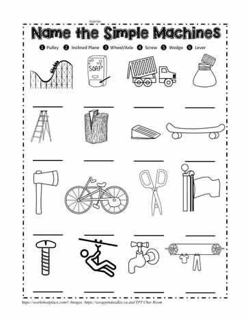 39+ Amazing simple machines worksheets information