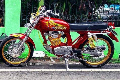 Modifikasi Motor Cb Glatik Klasik Cafe Racer Honda
