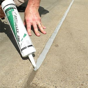 Akonaflex Pro Self Leveling Expansion Joint Filler Tcc Materials Repair Cracked Concrete Repair Concrete Driveway Expansion Joint
