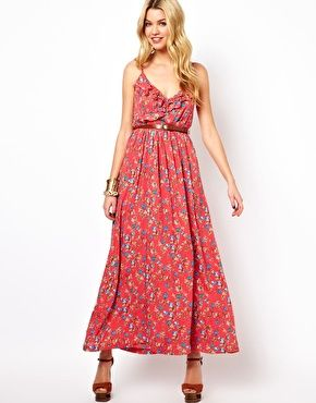 a276c52d3 Jarlo | Jarlo Floral Printed Maxi Dress at ASOS | Love love love