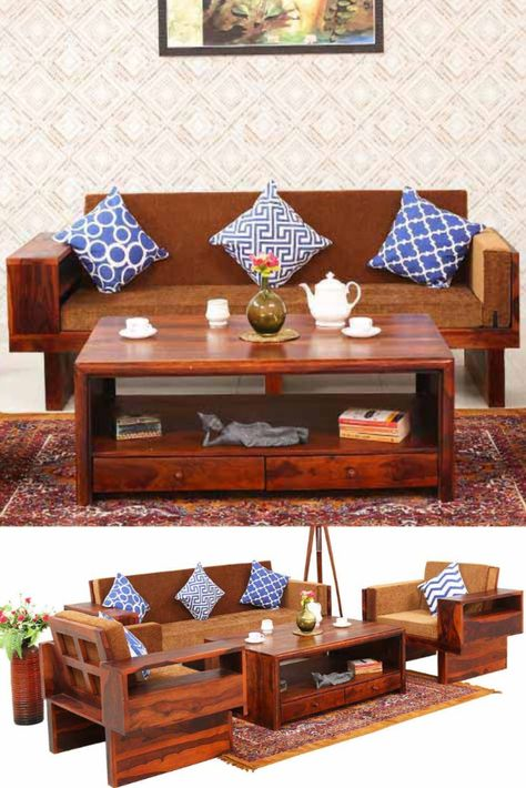 If You Are Looking For A Wooden Sofa Sets In Bangalore Jodhpuri Furniture Gives The Quality Products In Affrodable Price With Images Sofa Set Wooden Sofa Set Wooden Sofa