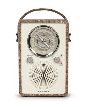 Crosley Electronics Mockingbird Radio Brown Crosley Radio Bluetooth Radio Vintage Radio