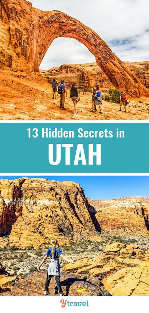 13 Places to visit in Utah away from the crowds.  Don't visit Utah before learning about these great State Parks, National Parks, scenic drives, hiking spots and camping spots. A Utah road trip is incredible! There are so many things to do and places to visit, making this a bucketlist US vacation destination with kids. #Utah #roadtrips #travel #USAtravel #Utahtravel #hiking #camping #nationalparks #stateparks