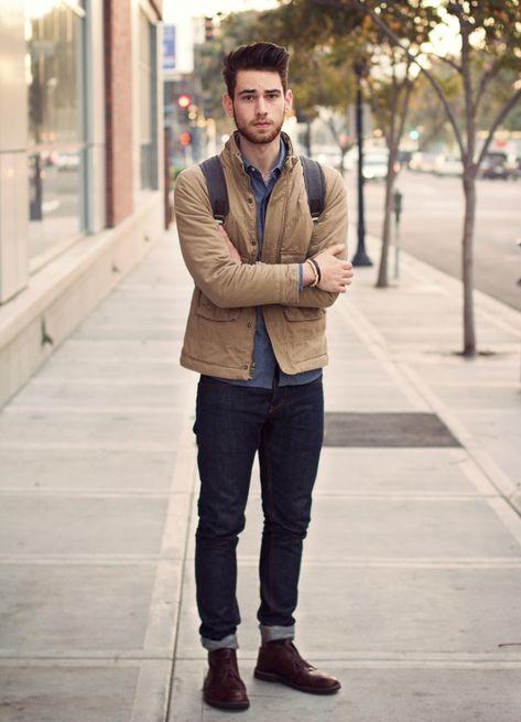Edward Honaker in Quiksilver Julian Workwear Jacket
