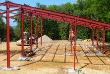 Hangar Agricole Pas Cher Construcoes Metalicas Estrutura Metalica Construcao