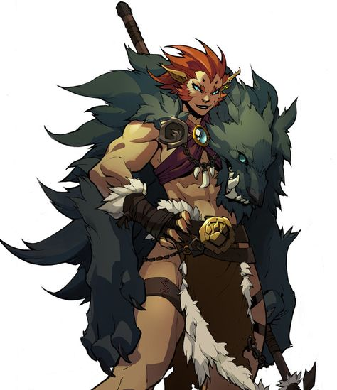 Battle Chasers Nightwar in-game Beastmaster art - Joe Madureira (Penciler) - Grace Liu (Colourist) - Beastmaster's name is Hagatha Fantasy Character Design, Character Design Inspiration, Character Concept, Character Art, Concept Art, Viking Character, Joe Madureira, Dnd Characters, Fantasy Characters