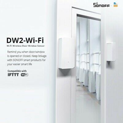 Sonoff Dw2 Wifi Wireless Door And Window Sensor Home Security Burglar Alarm In 2020 Wifi Wireless Smart Switches Wifi