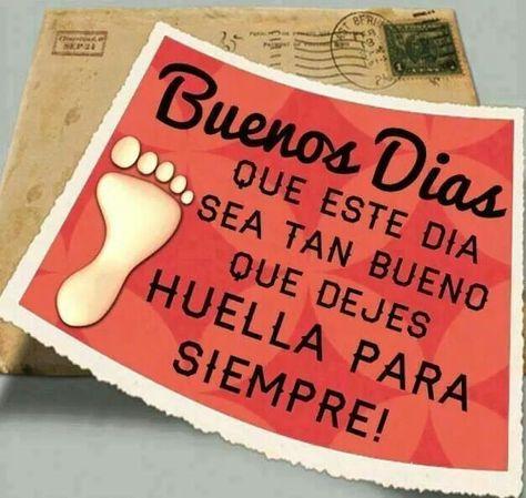 * Buenos Días....!!!