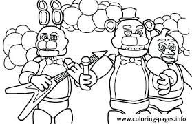Ignited Bonnie Coloring Pages Google Search Fnaf Coloring