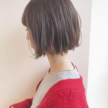 ボブ 髪の量が多い人におすすめヘアスタイル 髪型50選 ボブヘア