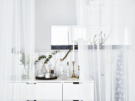 NORDLI ladekast | #IKEA #IKEAnl #inspiratie #slaapkamer #wit ...