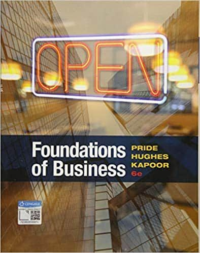 Foundations Of Business 6th Edition Ebook Cst With Images