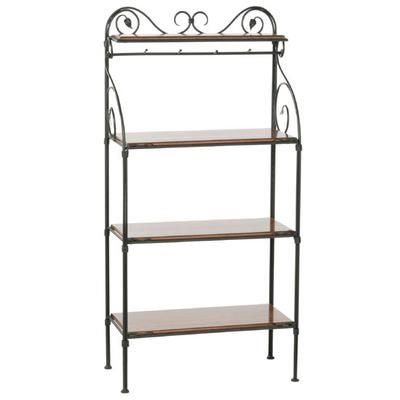 Wrought Iron Baker S Racks Iron Accents In 2020 Bakers Rack