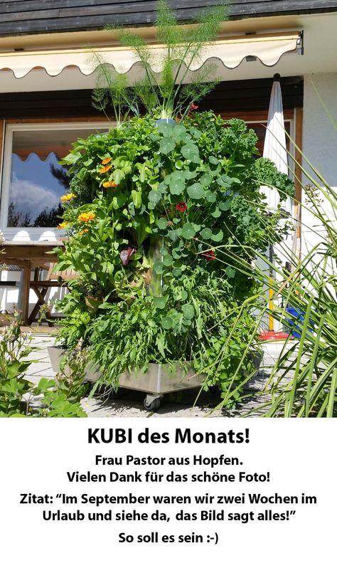 KUBI von Maag Design Ein Hochbeet mit integriertem Kompost und - hochbeet edelstahl kaufen