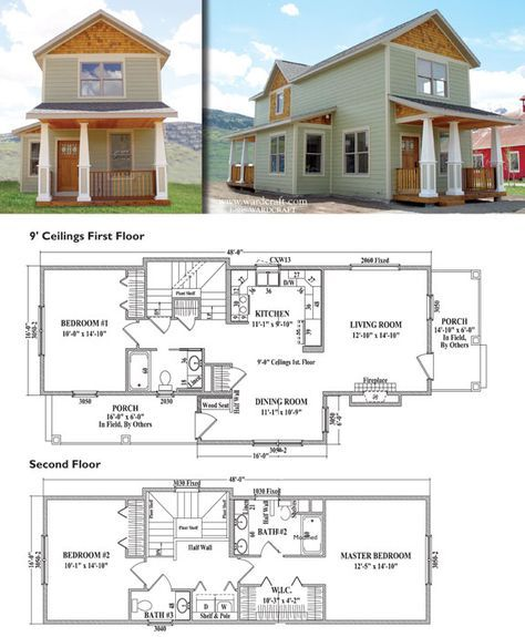 Silvertoni The Most Like Our Existing House 22 Ft Wide 16 Ft Wide Plus 6 Ft Bump O Architectural House Plans Bungalow Style House Plans Carriage House Plans