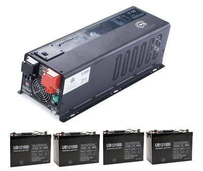 Off Grid Solar Inverter Modified 1000 Watts 12v Dc Input Built In Solar Panel Charge Controller For 12v Solar Panel Best Solar Panels Solar Power System Solar Panels