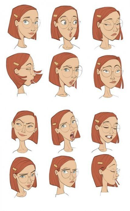 How To Draw A Face With Glasses Character Design 30 Super Ideas Character Design References Drawing Expressions Character Design
