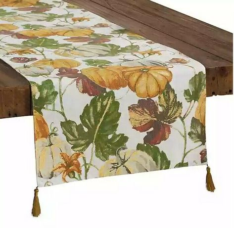 Tablecloths Home Kitchen Croscill Mosaic Tree Leaves Fabric Tablecloth 60 Inch X 120