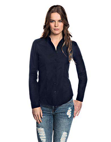 Hemd Shirt Tops Bluse Lange Ärmel Büro Damen Frühling V-Ausschnitt Damenshirt