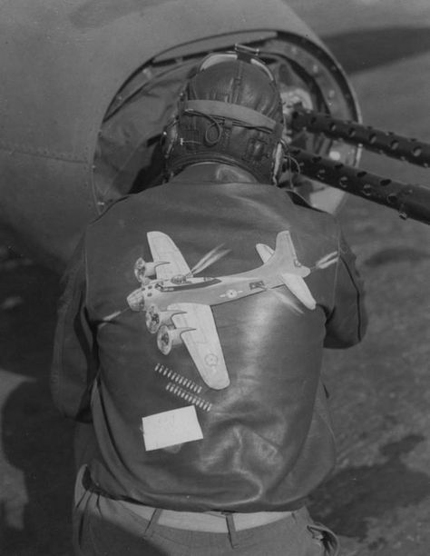 Flight Jacket with depicted on the back