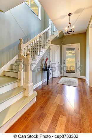 maison americaine interieur - Recherche Google | Maison Escaliers ...
