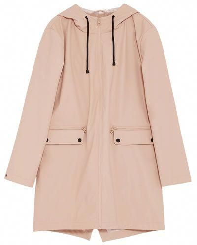 pink WATER REPELLENT PARKA from Zara   moda   Outfit