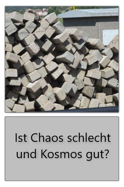 Unordnung Und Neue Schopfung Chaos Kosmos Frage Antwort