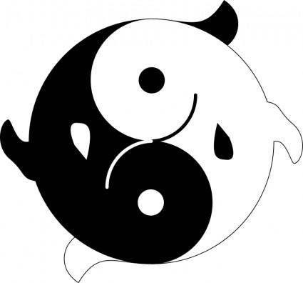 Yin Yang Yin Yang Clip Art Yin Yang Fish
