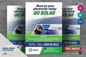 Solar Flyer Templates Free Download