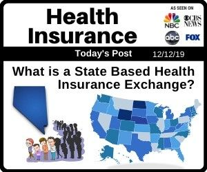 What Is A State Based Health Insurance Exchange Health