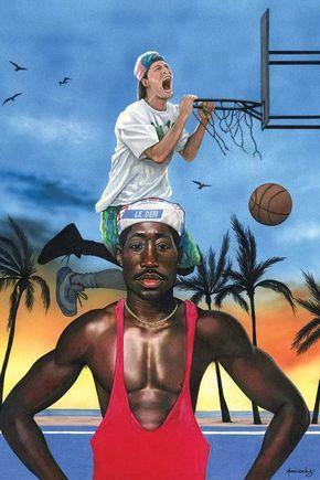 White Men Can't Jump - Canvas Print