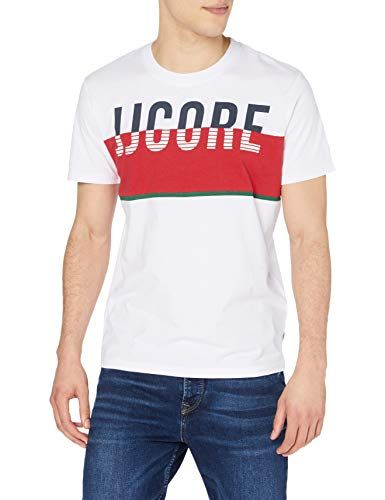 Jack /& Jones Jcoviking Tee SS Crew Neck T-Shirt Homme