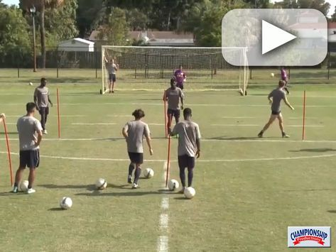 Watch As Coach Brian Mcmahon Explains And Players Demonstrate This Five Line Finishing Drill Soccer Coaching Soccer Soccer Drills