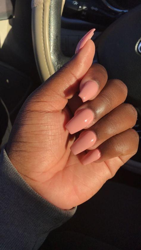 Nails Brown Skin 47 Ideas In 2020 Pink Acrylic Nails Trendy Nails Pink Nails