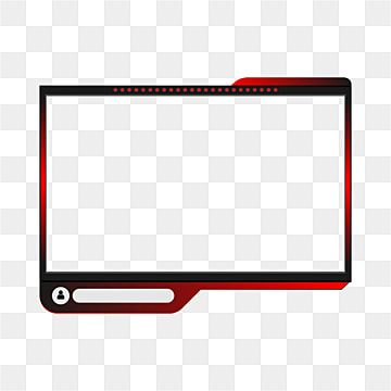 Twitch Streaming Game Overlay Design Game Twitch Overlay Png And Vector With Transparent Background For Free Download Overlays Overlays Transparent Twitch