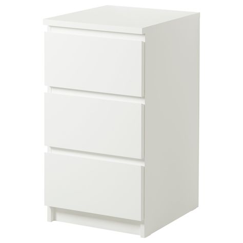 MALM Chest With 2 Drawers IKEA Can Also Be Used As A Nightstand. Extra  Roomy Drawers. Smooth Running Drawers With Pull Out Stop. $39.99 |  Pinterest | Malm ...