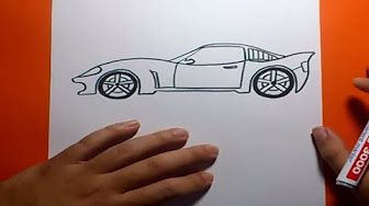 85) como dibujar coches hot wheels - YouTube   Cómo dibujar coches ...