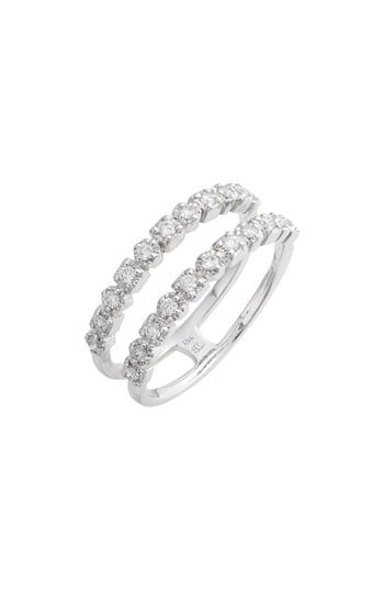 349096239 Chic Bony Levy Maya Two-Row Diamond Ring (Nordstrom Exclusive) Womens  Fashion Jewelry