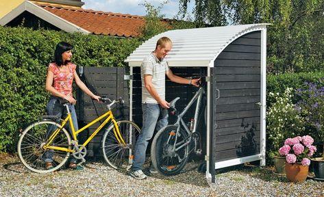 Trimetals Fahrradbox Geratebox Stowaway Inkl Boden