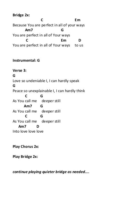 Good Good Father Chords Page 2 With Images Good Good Father