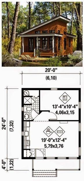 Pin By Rahmawaty On Houses House Blueprints Tiny House Plans Small House Plans