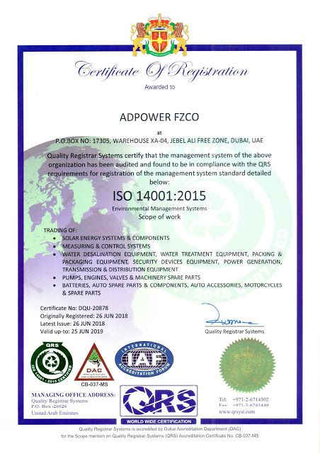 WE ARE PROUD TO ANNOUNCE THAT WE ARE NOW ISO 9001:2015, ISO