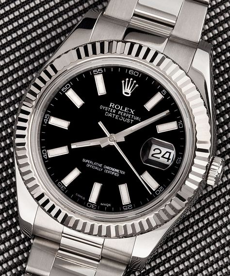 The Rolex Datejust is an Oyster Perpetual.