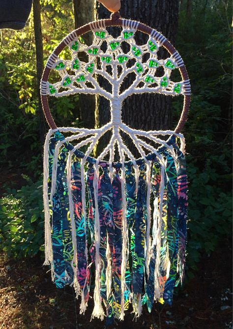 This tree of life macrame wall hanging is handmade here in Washington State. This uniquely handcrafted piece of decor adds a modern, beautiful touch to the spiritual flow of your home. Place it in your living room, bedroom window, meditation or yoga space. I pour a lot of heart and