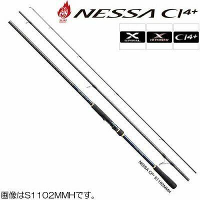 Ad Ebay Link New Shimano Nessa Ci4 S1102mmh Extra Medium Heavy 11 Fishing Spinning Rod Pol In 2020 Spinning Rods Surf Rods Shimano