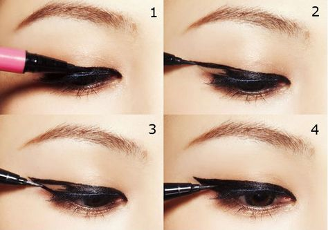 different eyeliner look