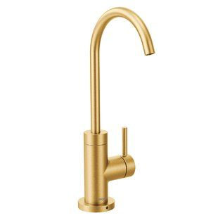Brushed Gold Kitchen Faucet Wayfair Kitchen Faucet Gold Faucet Gold Kitchen Faucet