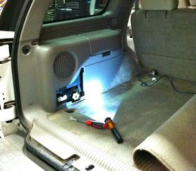 2000 2006 Chevy Tahoe Factory Sub Upgrade Jbl 8 Inch Chevy