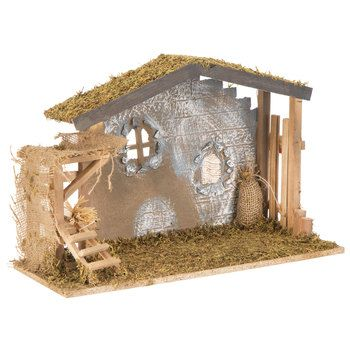 Update Your Holiday Home Decor In Minutes With These Must Have Christmas Decorations Fr Nativity Stable Simple Christmas Decor Affordable Christmas Decorations