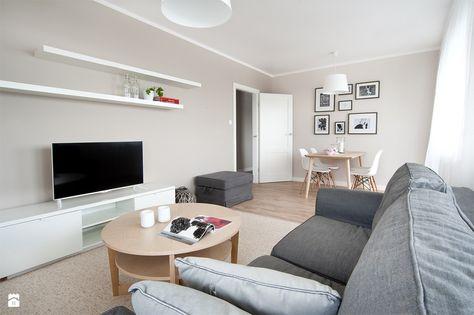 Salon Styl Skandynawski - Zdjęcie Od Re-Arch Home Staging - Salon